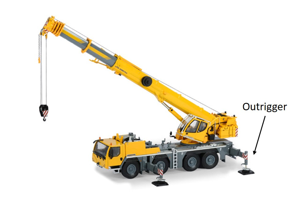 Crane Hire - VarioBase and Outrigger Development